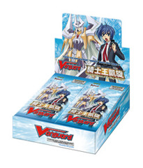 BT10 Triumphant Return of the King of Knights (English) Cardfight Vanguard Booster Box