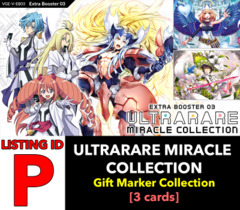 # ULTRARARE MIRACLE COLLECTION [V-EB03 ID (P)] Secret Rare ▽ Im Gift Marker Collection x1 [Includes 1 of each SCR's (3 cards)]
