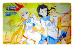 Weiss Schwarz NISEKOI -False Love- Case Promo Playmat