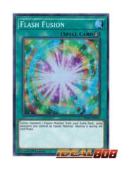 Flash Fusion - HISU-EN057 - Super Rare - 1st Edition
