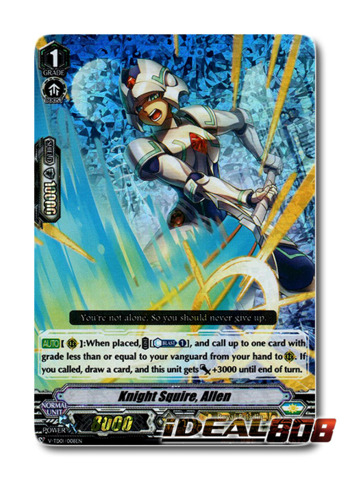Knight Squire, Allen - V-TD01/008EN (FOIL - RRR)