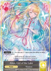 Alice, Girl of the Lake // Alice, Fairy Queen [TTW-001 R (Full Art Ruler)] English