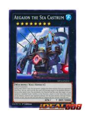 Aegaion the Sea Castrum - MP16-EN213 - Common - 1st Edition