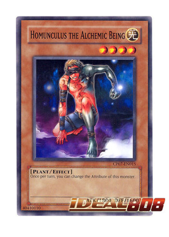 Homunculus the Alchemic Being - CP07-EN015 - Common - Unlimited Edition