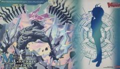 Cardfight Vanguard Playmat - V-EB08 [Blue Storm Supreme Dragon, Glory Maelstrom] My Glorious Justice
