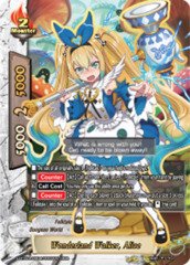 Wonderland Walker, Alice [S-BT02A-UB04/0002EN RRR (FOIL)] English