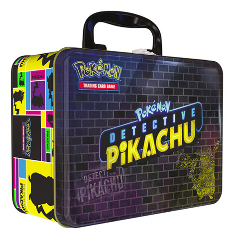 Pokemon Detective Pikachu Collector's Chest