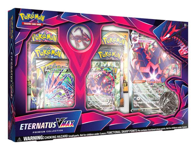 Pokemon TCG: Eternatus VMAX Premium Collection Box Set * PRE-ORDER Ships Sep.04