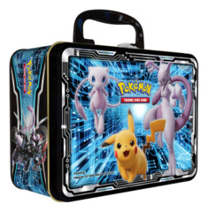 Pokemon TCG: Collector Chest (Fall 2019) Mewtwo Strikes Back - Evolution (Armored Mewtwo / Pikachu / Charizard)