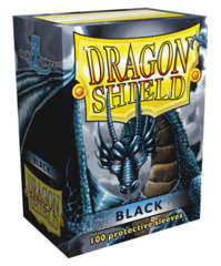 Dragon Shield Standard-size (100ct) Sleeves - Black