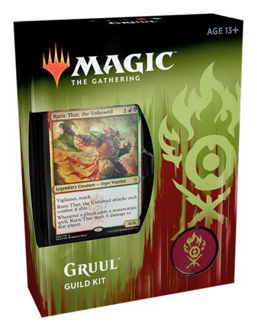 Ravnica Allegiance (RNA) Guild Kit Deck [Gruul Clans] - Magic