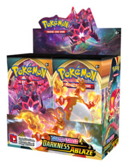SS Sword & Shield: Darkness Ablaze (SS03) Pokemon Booster Box [36 Packs] * PRE-ORDER Ships Aug.14