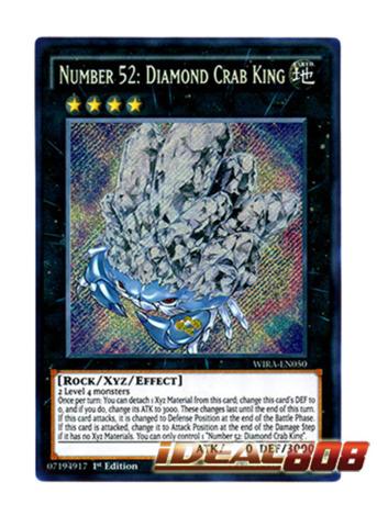 YU-GI-OH CARD WIRA-EN040 1st EDITION CRANE CRANE