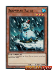 Snowman Eater - AC18-EN008 - Super Rare - 1st Edition
