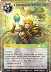 A Rendezvous of Light and Wind [LEL-041 U (Foil)] English