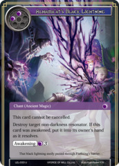 Alhama'at's Black Lightning [LEL-033 U (Foil)] English