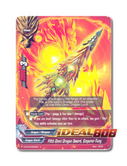 Fifth Omni Dragon Sword, Emperor Fang [H-BT04/0053EN U (FOIL)] English