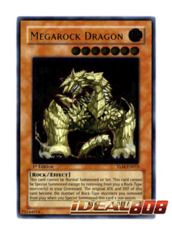 Megarock Dragon - TLM-EN015 - Ultimate Rare - 1st Edition