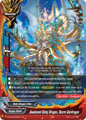 Awakened Deity Dragon, Sturm Gardragon [S-BT06/0009EN RR (FOIL)] English