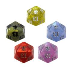 MTG Spindown 20 Life Counter - DTK Dragons of Tarkir Set (All 5 Colors)