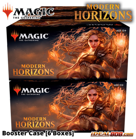 Modern Horizons 2019 Booster  Case [6 Boxes]