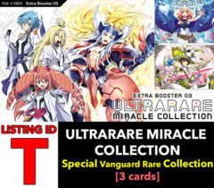 # ULTRARARE MIRACLE COLLECTION [V-EB03 ID (T)] Special Vanguard Rare x1 [Includes 1 of each SVR's (3 cards)]
