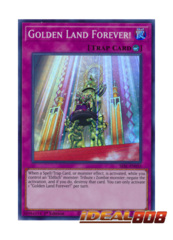 Golden Land Forever! - SESL-EN035 - Super Rare - 1st Edition