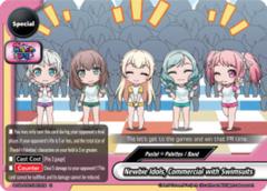 Newbie Idols, Commercial with Swimsuits [S-UB-C02/0057EN U (Regular)] English