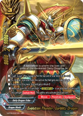 Evolution Thunder, Garblitz Dragon [S-BT06/0001EN RRR (FOIL)] English
