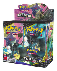 SM Sun & Moon - Team Up (SM09) Pokemon Booster Box [36 Packs]