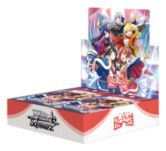 Shojo Kageki Revue Starlight -Re LIVE- | 少女☆歌劇 レヴュースタァライト -Re LIVE- (Japanese) Weiss Schwarz Booster Box [16 Packs] * ETA Nov.08