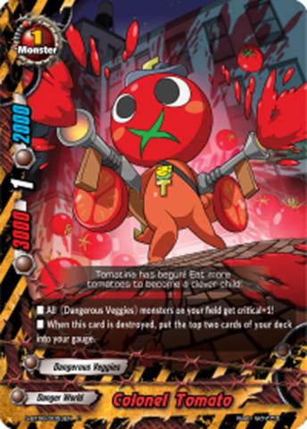Colonel Tomato [S-BT06/0053EN C (FOIL)] English