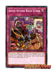 Abyss Actors Back Stage - LED3-EN055 - Common - 1st Edition