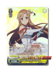 Asuna Invites to Party [SAO/S20-E001S SR (Foil)] English