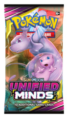 SM Sun & Moon - Unified Minds (SM11) Pokemon Booster Pack [10 Cards]