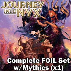 MTG Journey Into Nyx Complete Premium Foil Set (MTGJOU)
