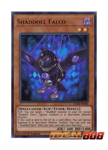 Shaddoll Falco - BLHR-EN080 - Ultra Rare - 1st Edition