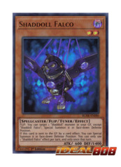 Shaddoll Falco - BLHR-EN080 - Ultra Rare - 1st Edition