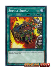 Supply Squad - YS18-EN032 - Common - 1st Edition