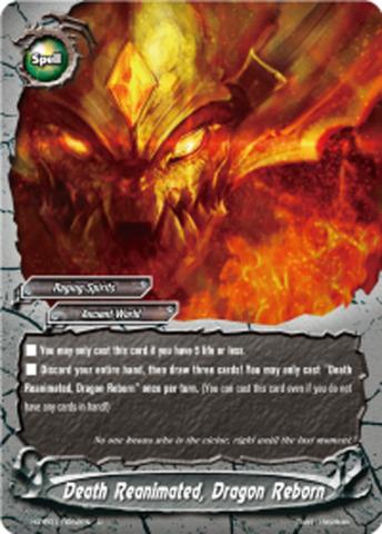 Death Reanimated, Dragon Reborn [H-PP01/0052EN U] English