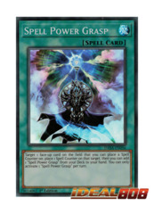 Spell Power Grasp - DASA-EN056 - Super Rare - Unlimited