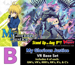 # My Glorious Justice [V-EB08 ID (B)] VR Base Set [4 of each VR's, RRR's, RR's, R's, & C's (252 cards)]