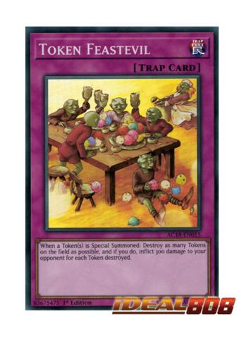 Token Feastevil - AC18-EN015 - Super Rare - 1st Edition