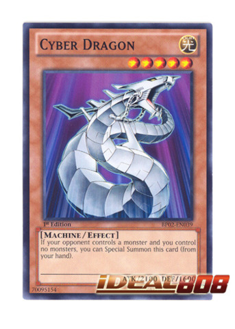 Cyber Dragon - BP02-EN039 - Common - 1st
