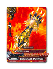 Crimson Fist, Dragoblaze [H-BT01/0024EN R] English Rare