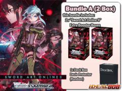 Weiss Schwarz SAOII Bundle (A) - Get x2 Sword Art Online II Extra Booster Boxes + FREE Bonus (Deck Box)
