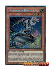 Inspector Boarder - MP18-EN193 - Secret Rare - 1st Edition