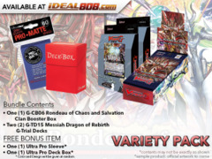 Cardfight Vanguard G-CB06 G-TD15 Variety Pack - Get x1 Rondeau of Chaos and Salvation Booster Box & x2 Messiah Dragon of Rebirth