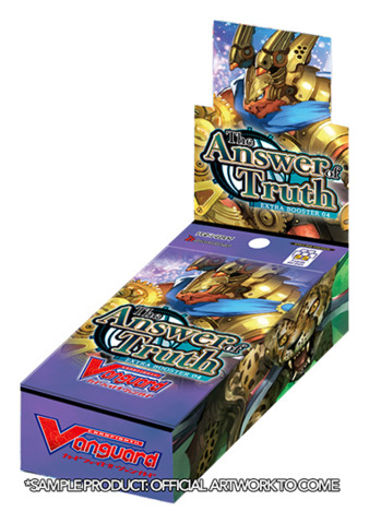 CFV-V-EB04 The Answer of Truth (English) Cardfight Vanguard V-Extra Booster Box