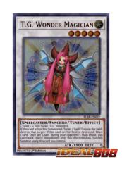 T.G. Wonder Magician - BLRR-EN057 - Ultra Rare - 1st Edition